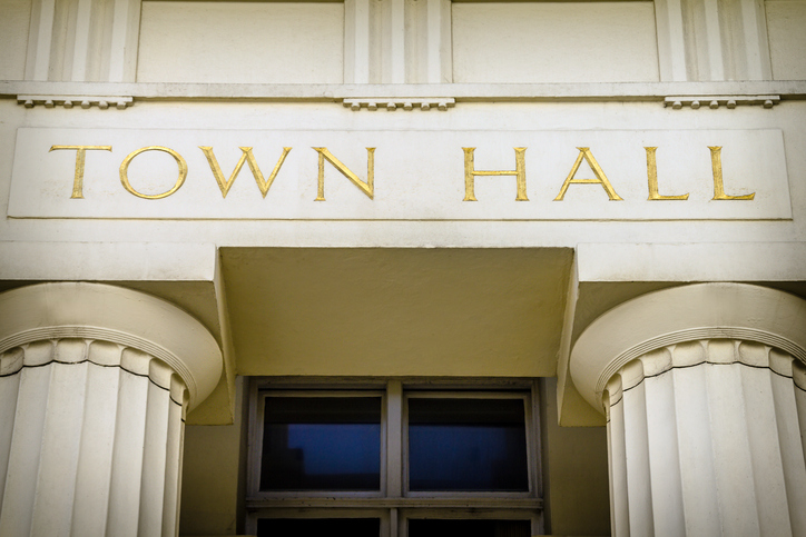 Proposals lodged to replace town hall with 200 homes