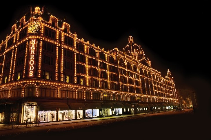 Harrods partners with global property developer