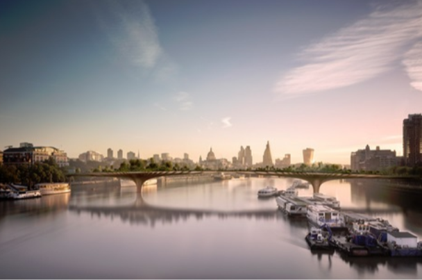 £200m London Garden Bridge project scrapped after Sadiq Khan pulls support