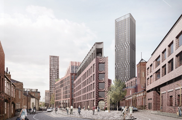 Planning application submitted for £350m Leeds development