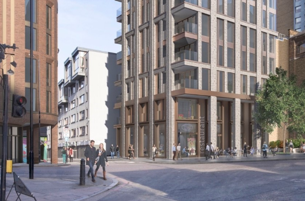OakNorth completes £16.5m loan for mixed-use tower in Aldgate