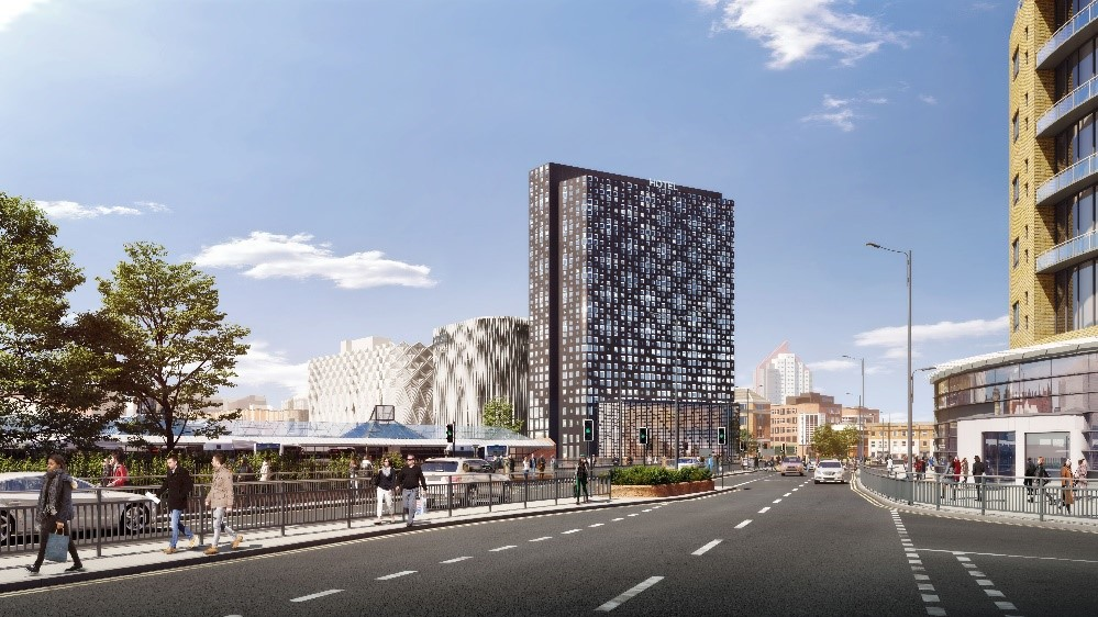 Hammerson submits plans to redevelop car park into 205-bed hotel