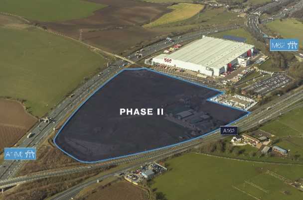 Caddick Group on track to deliver £50m logistics scheme for AEW