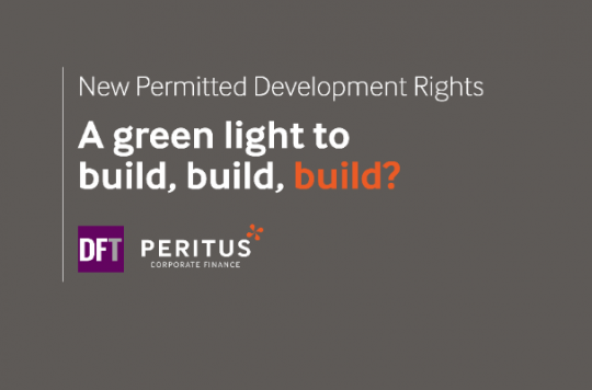 Live webinar: New permitted development rights - a green light to build, build, build? Pt 2